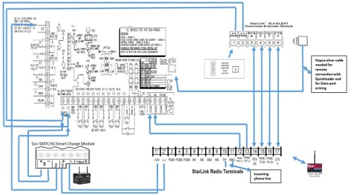 small resolution of napco technical libraryp1664 wiring diagram for gem 14