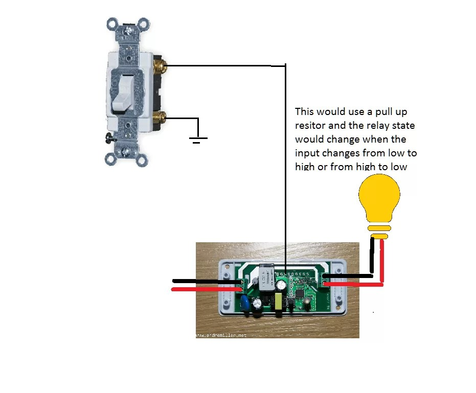 Wiring Diagram For A Network Switch Itead Slampher And Sonoff Scargill S Tech Blog