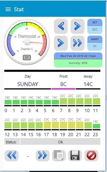 Scargill's Stat - App/PC Interface