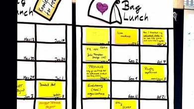 brown bag lunches poster