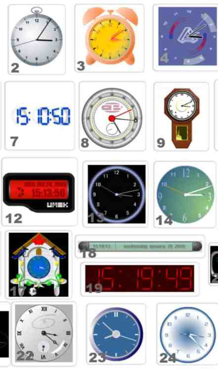 25 Flash Clock for WordPress
