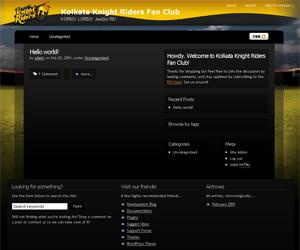 KKR Golden Black WordPress Theme