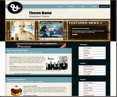 Aquatic X WordPress Theme