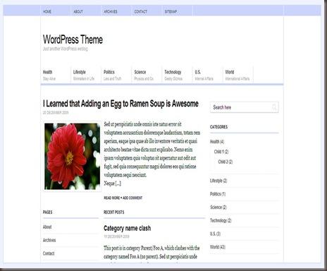 Pico WordPress Theme