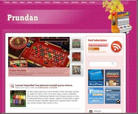 Prundan WordPress Theme