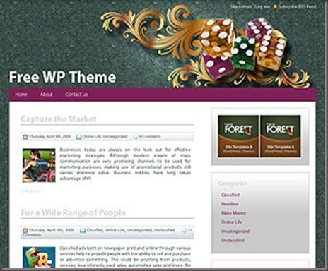 Redbet WordPress Theme