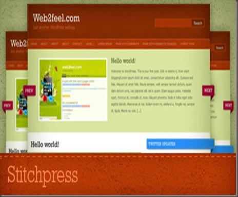 Sticthpress WordPress Theme