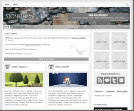 StoneTheme WordPress Theme