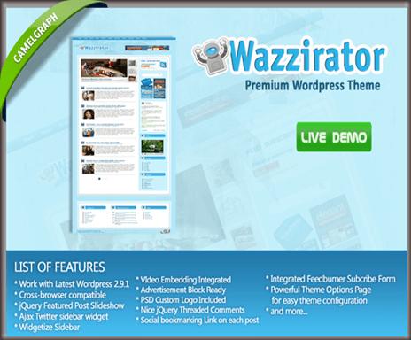 Wazzirator WordPress Theme