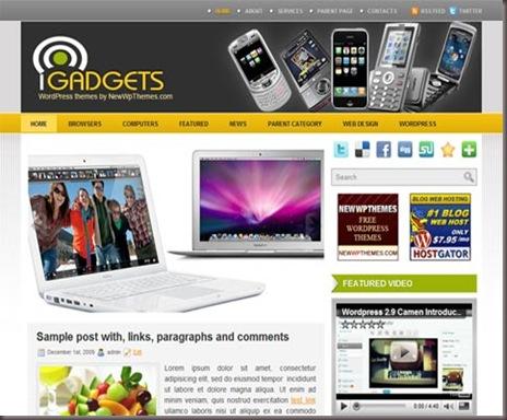 iGadgets WordPress Theme