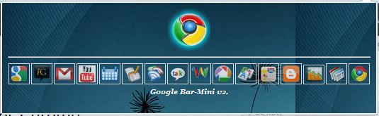 Google Toolbar Horizontal