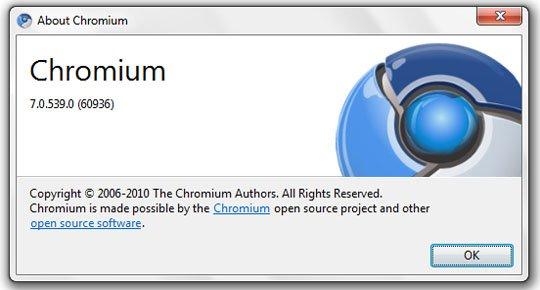 chrome 7 build 539