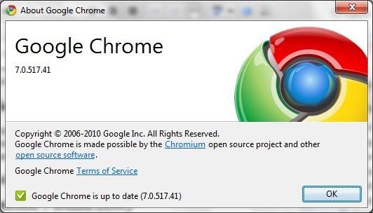 google chrome 7 stable version