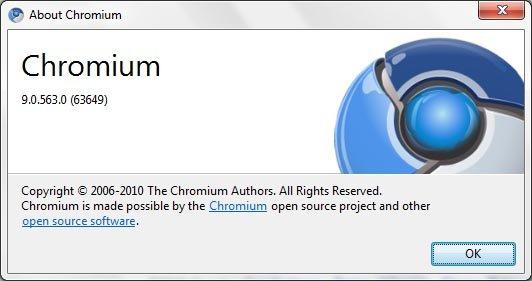 Google Chrome 9 build started