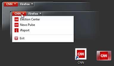 Firefox 5 CNN News Tab
