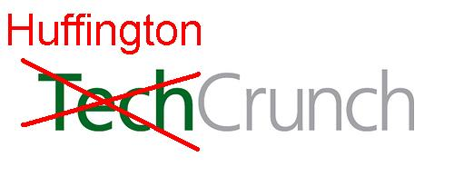 techcrunch renamed to huffingtoncrunch