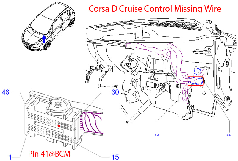Vauxhall Cruise Control Diagram : Opel corsa d wiring diagram somurich