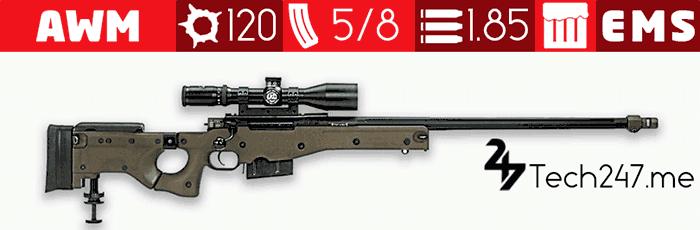 سلاح AWM في لعبة ببجي – لعبة PUBG
