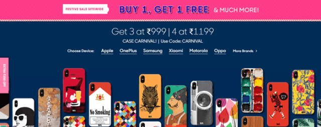 huge selection of f73d2 b5800 5 Best Websites to Buy Fancy Mobile Covers Online | Tech4Fresher