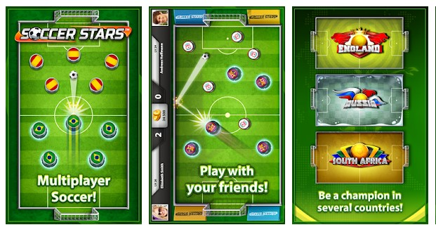 soccer star football game for android