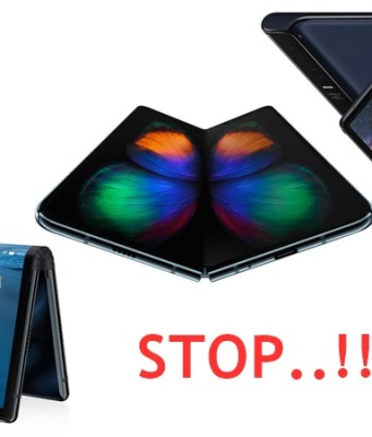 Why You Should Not Buy Foldable Smartphones in 2019