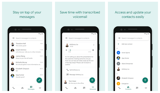 How to Set Up google voicemail on Android
