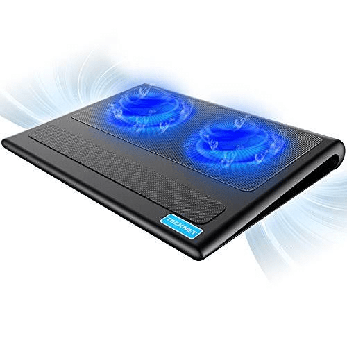TECKNET Laptop Cooling Pad With 2 USB Powered Fans