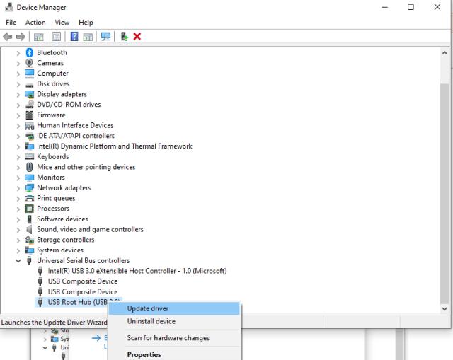 Update USB 3.0 drivers