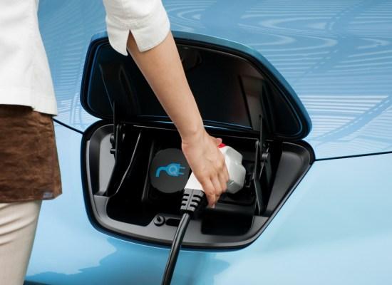 Nissan Leaf is a zero emission car!