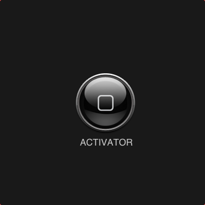 Activator is one of the awesome top iPhone apps for customization