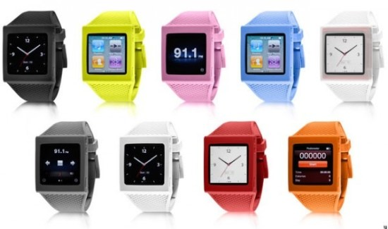 Apple iPod watch comes in different colors