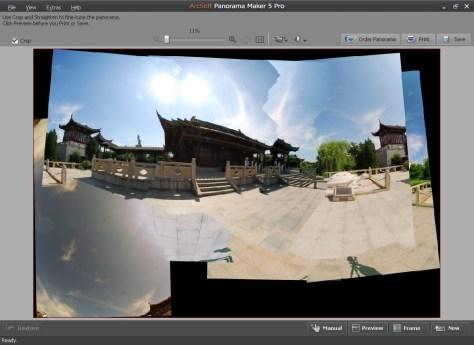 Arcsoft Panorama maker software