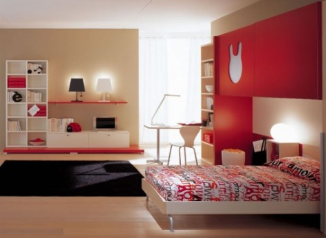 kids room with accessories