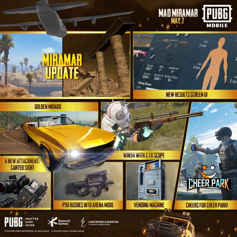 PUBG Mobile 0.18.0 Update Official Patch Notes