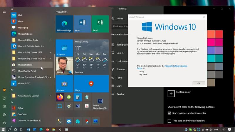 Tricky but easy, Unlock the Windows 10 version 20H2 now