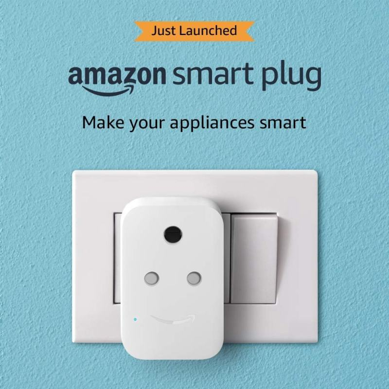 Amazon Smart Plug with Alexa support launched in India