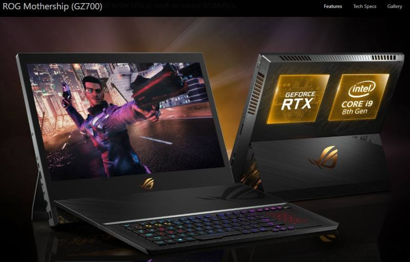 Asus ROG Mothership GZ700 Review and more