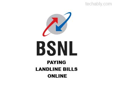 How to: Pay BSNL Landline bills online from home