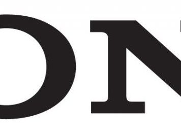 Sony make.believe logo - black be moved without claim slogan clean