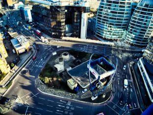 Silicon Roundabout, London, UK