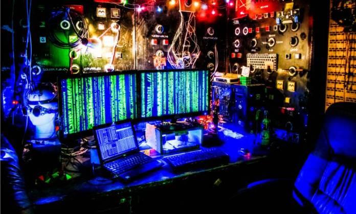 AI Metamind Lab Brainhacking Lab Engineering Dark Science Office