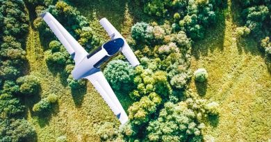 Lilium Jet Flying VTOL Taxi Cab Electric Plane