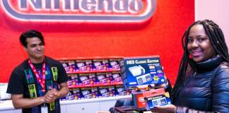 photo Nintendo of America Zuri R Brooklyn NY first person purchase Nintendo Entertainment System NES Classic Edition system loaded with 30 retro games Nov 11 2016