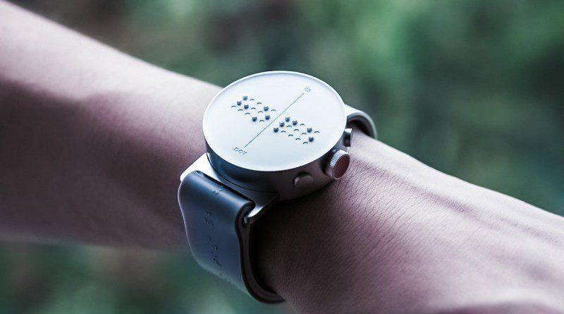 Dot Watch Braille smartwatch South Korea Design Innovation Blind Wearables