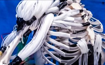 musculoskeletal robot drive by making use of multifilament muscles video tokyo tech