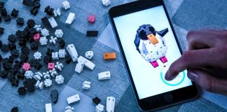 Kible Penguin App Building Blocks New Lego Alternative 3D Model