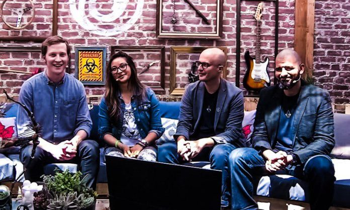 Ubisoft E3 2017 Conference Couch Shot Stream Hosts