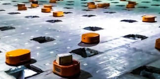Little Orange Robot China Post Office