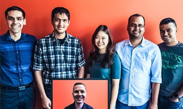 Microsoft GARAGE TEAM Anirudh Koul Anand Desai Eren Song Prabhav Agrawal Ayush Sharma Derik Stenerson Dictate Team Silicon Valley and Redmond USA Crop