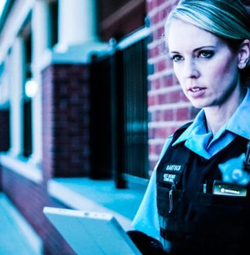 Police Office Female Patrol Bartuch District Town Hall Motorola Solutions Body Camera IoT AI Facial Recognition Neurala News